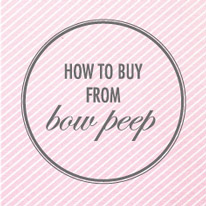 How to buy from bow peep online